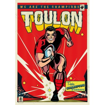 Toulon - RCT Rouge