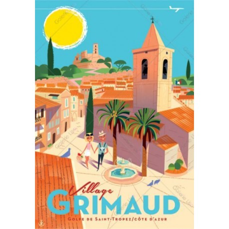 Grimaud - Village