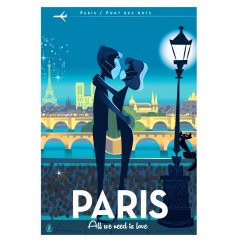 MONSIEUR Z - Paris LOVE mask